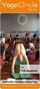 Titelseite Herbst 2016 Yoga Stundenplan mit Thomas Bessel