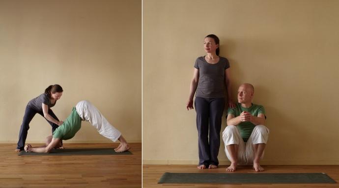 Sharada Devi & Thomas Bessel, begünder, Ausbildungsleiter und Yogalehrer in der YCBA