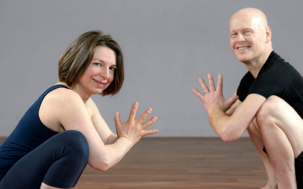 Sharada Devi und Thomas Bessel