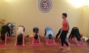 Schüler im Unterricht, Yogalehrer-Ausbildung / Teacher Training Level I 200hrs - YogaCircle Berlin