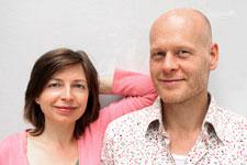 yogacircle berlin: Dr. Kinga Hiller (Sharada Devi) und Dipl. Thomas Bessel