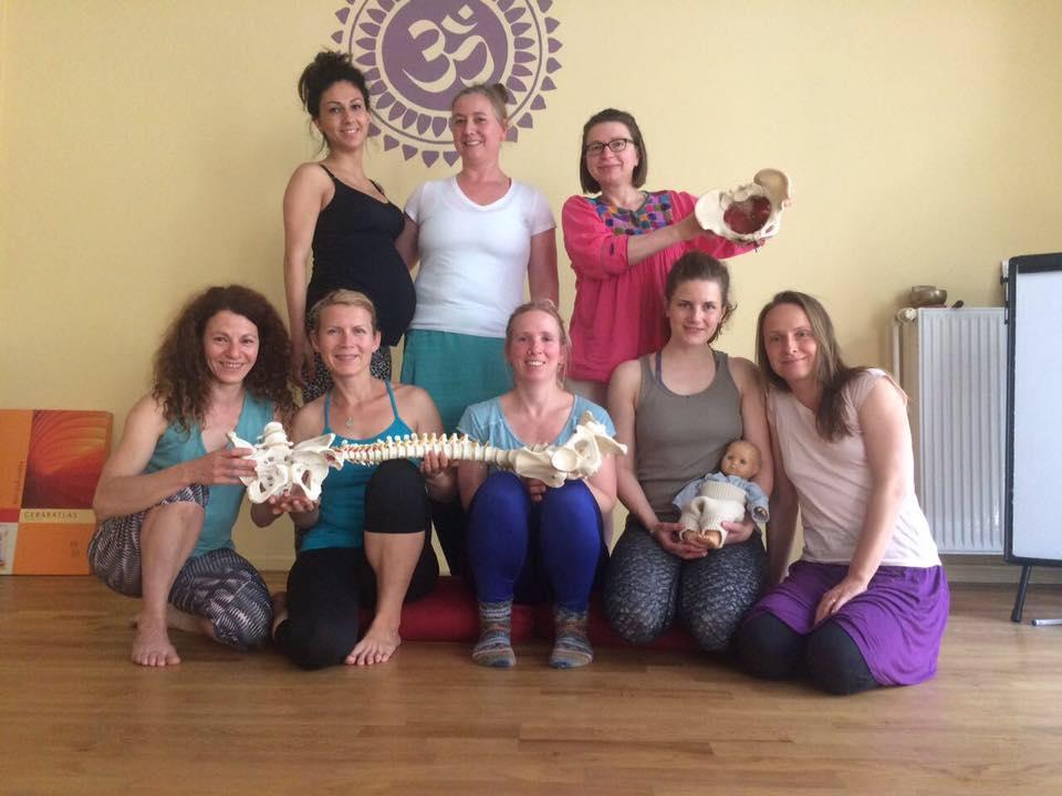 Fortbildung Yoga prenatal/ postnatal