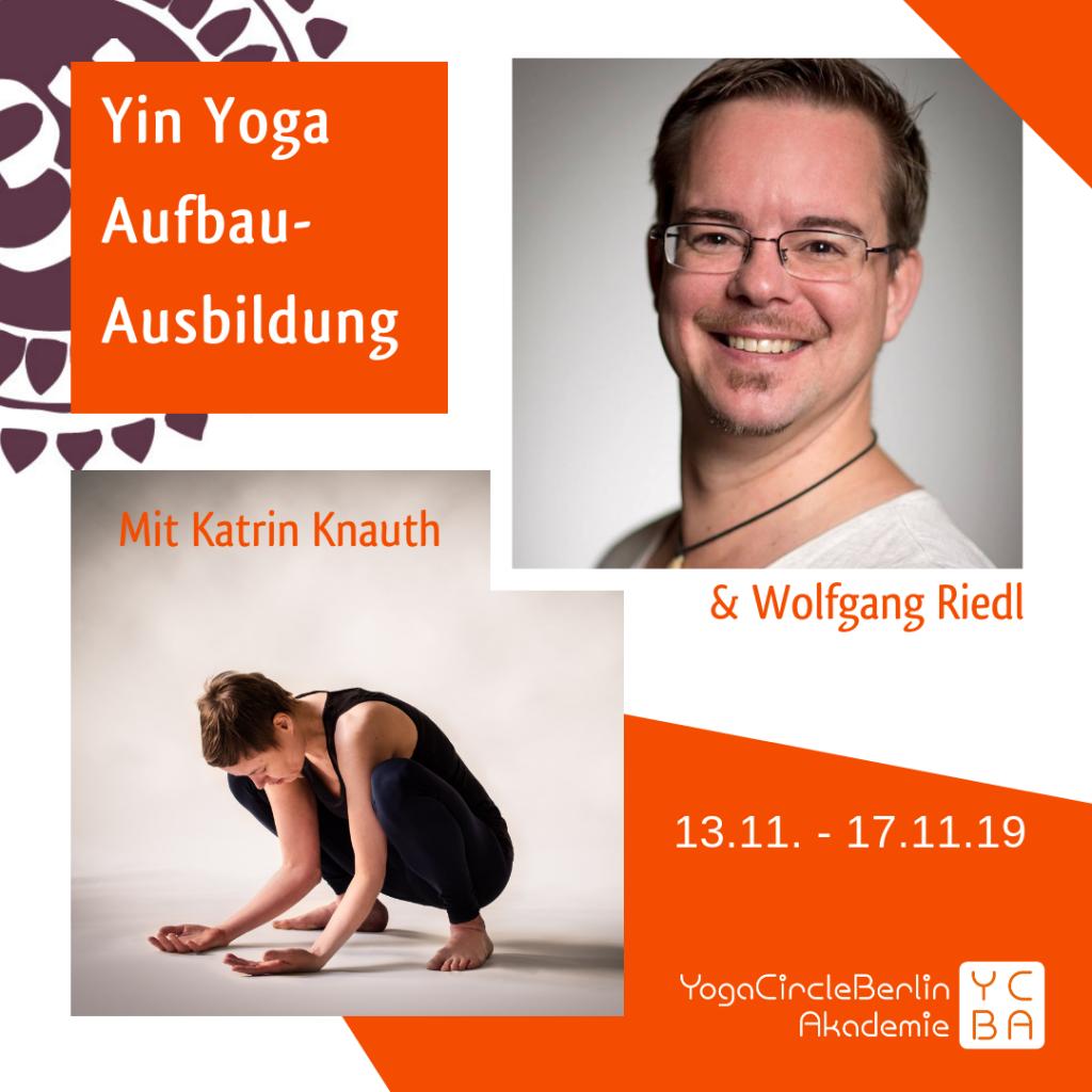 Yin Yoga Aufbau Ausbildung