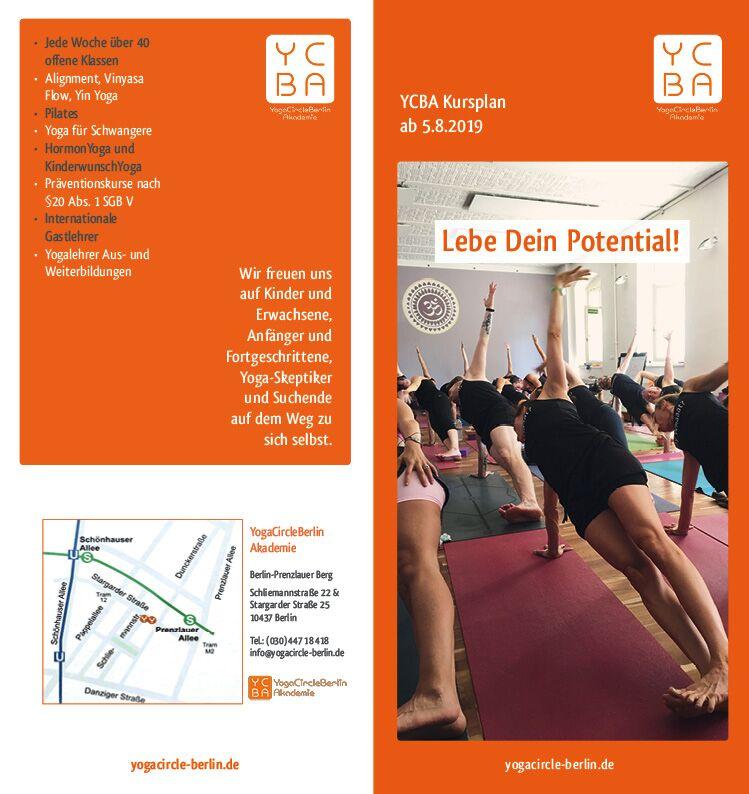 Yoga Kursplan