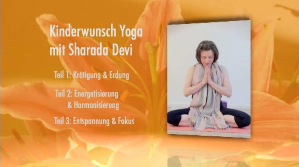 Hormonyoga imd Kinderwunsch yoga in Berlin nach Sharada Devi