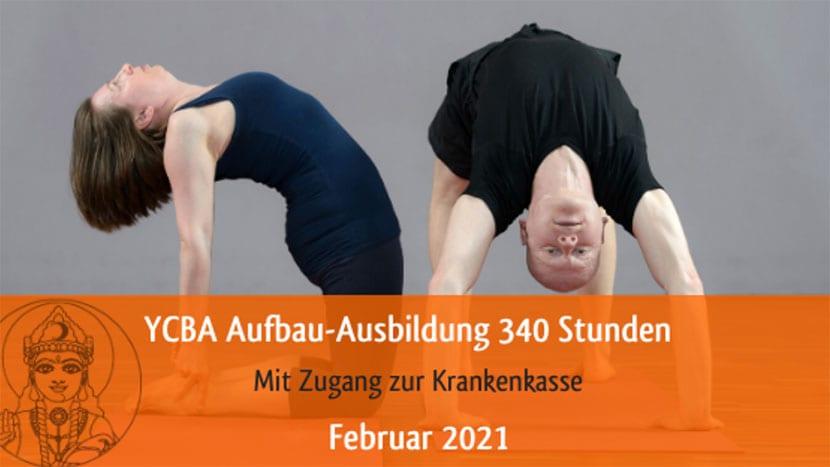 Yoga Aufbauausbildung mit Sharada Devi und Thomas Bessel